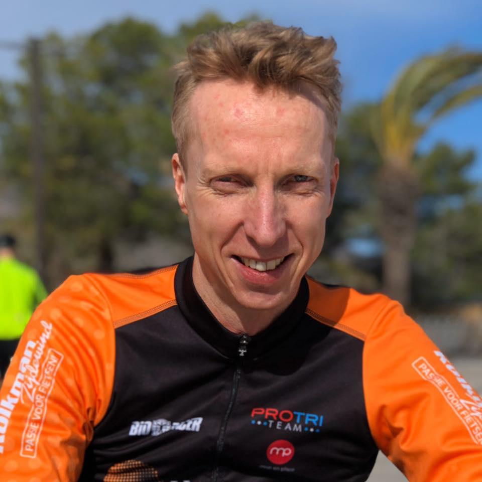 Eric van der Linden Triathlon coaching